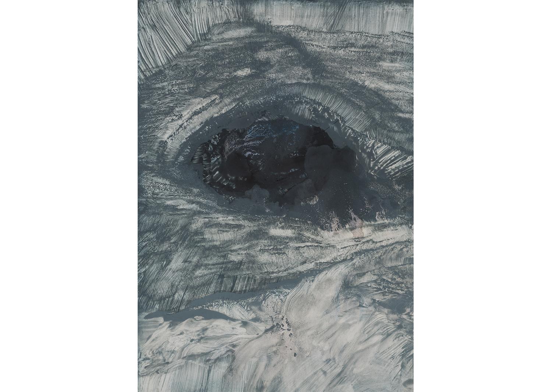 이해민선, 웅덩이, 실내수영장사진,화학약품, 42.5X30.3cm, 2015@LeeHaiminsun, Puddle - Indoor Wall Photo, Chemicals, 42.5x30.3cm,2015