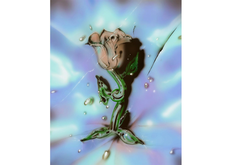 람한_Glass rose_Archival pigment print_25x20cm_2020@Ram Han_Glass rose_Archival pigment print_25x20cm_2020