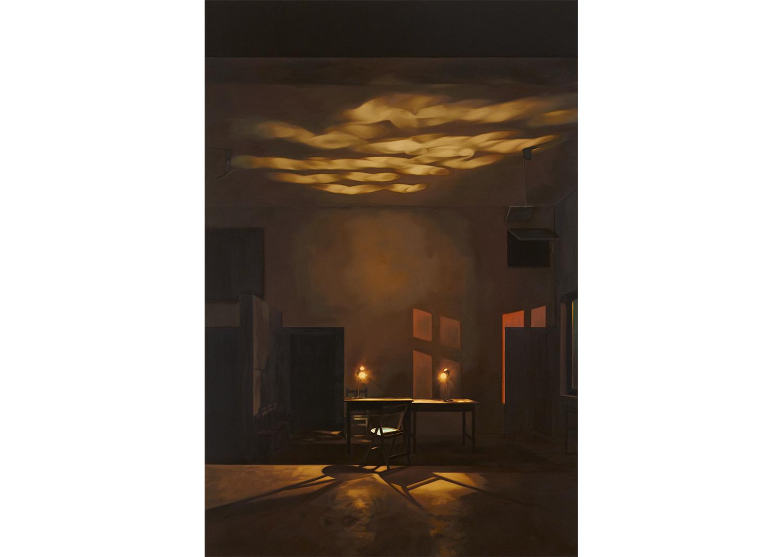 정보영, Lie one upon another, oil on canvas, 194x130.3cm, 2012@Jung Boyoung, Lie one upon another, oil on canvas, 194x130.3cm, 2012