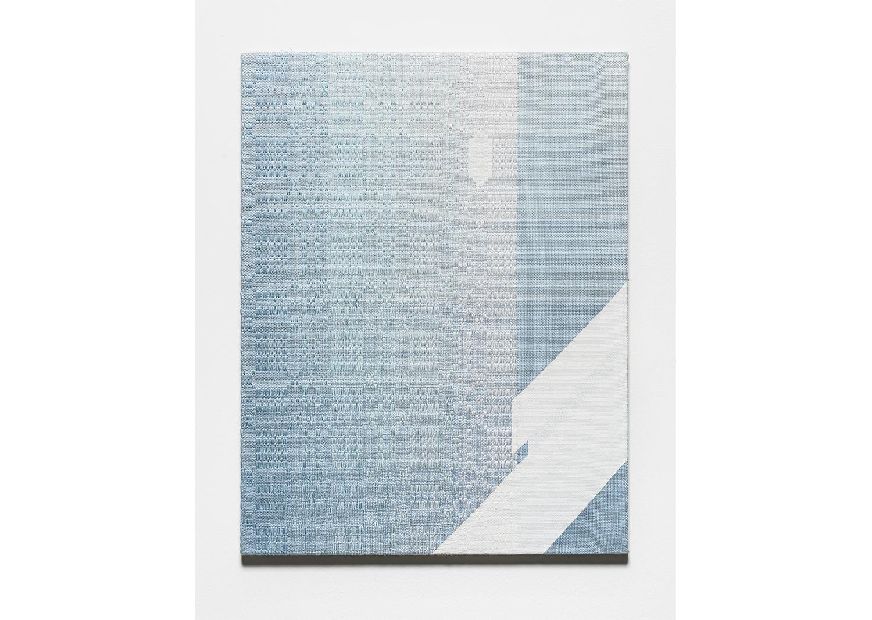 p. 147 sms-3_면사, 합성사, 아크릴물감_65x50cm_2019@p. 147 sms-3_cotton yarn, polyester yarn, acrylic paint_65x50cm_2019