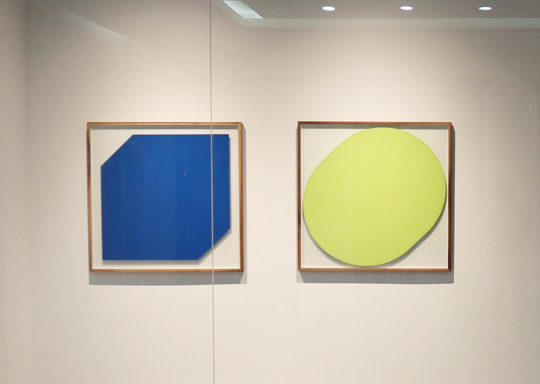 오완석_underpainting 131,0037_불투명 무반사 유리에 페인트_100x100cm_2015@Oh Wanseok_underpainting 0037,131_paint on non-reflecting glass_100x100cm_2015