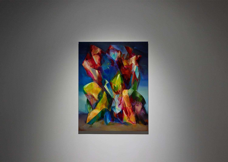 하지훈_landscape-structure #7 (corsica)_Acrylic, oil on canvas_117x91cm_2020@Jihoon Ha_landscape-structure #7 (corsica)_Acrylic, oil on canvas_117x91cm_2020