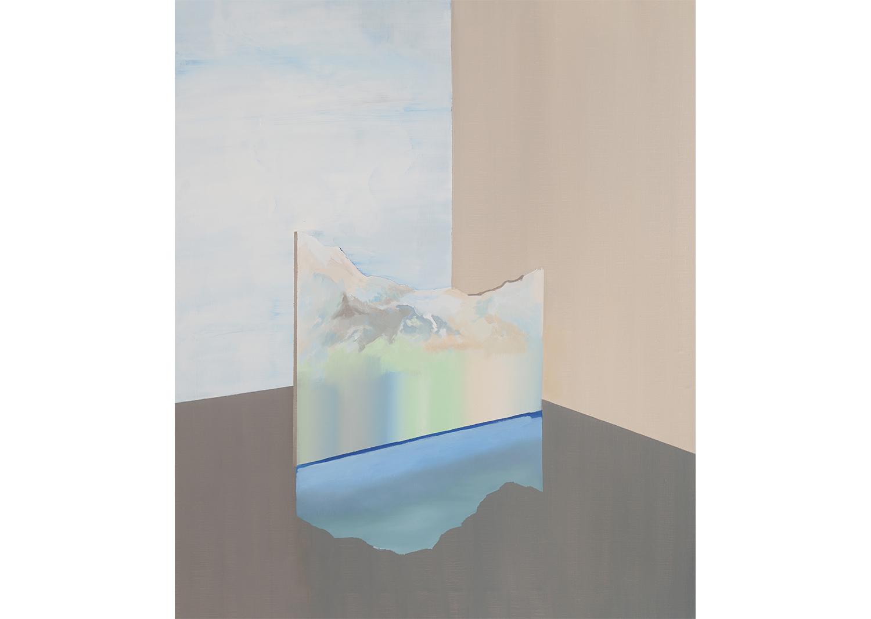 Toned landscape 1, oil on canvas, 72.7x60.6cm, 2018 @Toned landscape 1, oil on canvas, 72.7x60.6cm, 2018