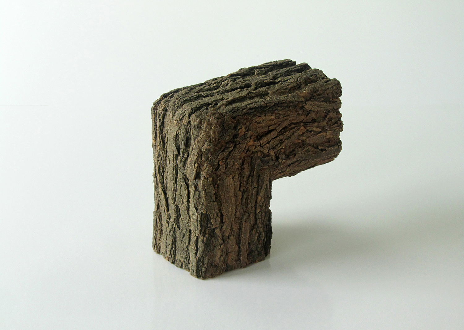 WOLFS + JUNG, Elements, natural bark to be casted in bronze, 25Wx25Dx25~80Hcm, 2018@WOLFS + JUNG, Elements, natural bark to be casted in bronze, 25Wx25Dx25~80Hcm, 2018