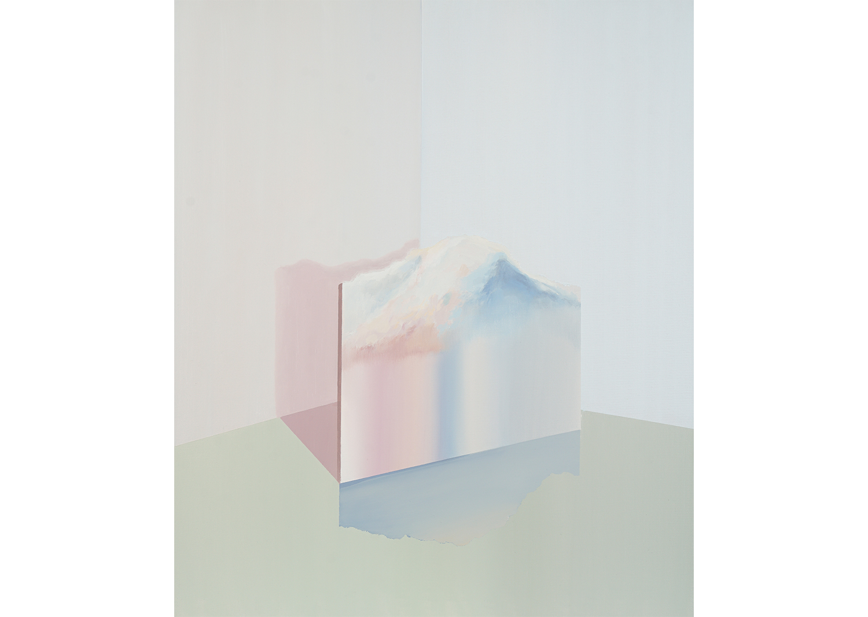 Toned landscape 2 oil on canvas, 72.7x60.6cm, 2018@Toned landscape 2 oil on canvas, 72.7x60.6cm, 2018
