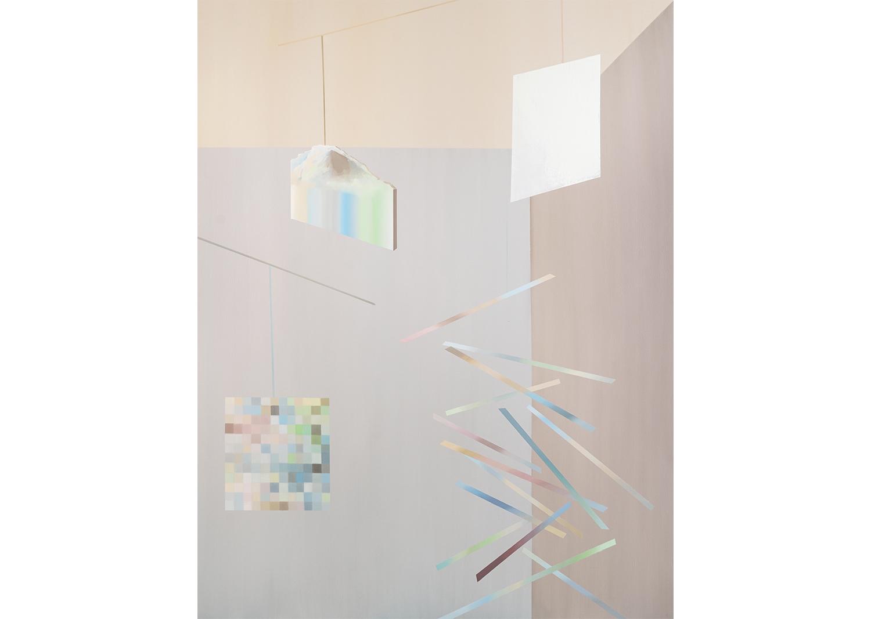 Balanced 2, oil on canvas, 145.5x112.1cm, 2018@Balanced 2, oil on canvas, 145.5x112.1cm, 2018
