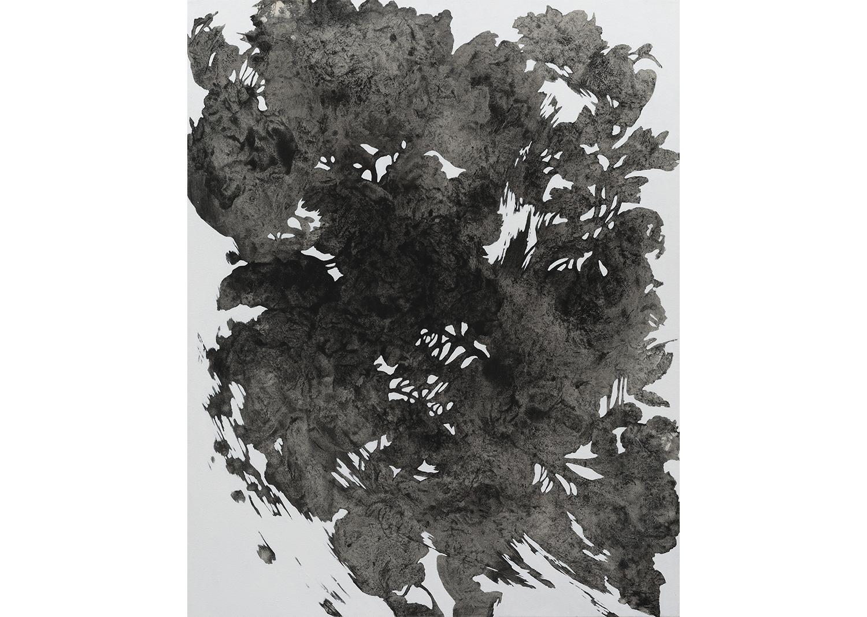 유정현, 도시식물-1706, acrylic on canvas, 100 x 80cm, 2017@Yoo Jung-hyun, Urban Plant-1706, acrylic on canvas, 100x80cm, 2017