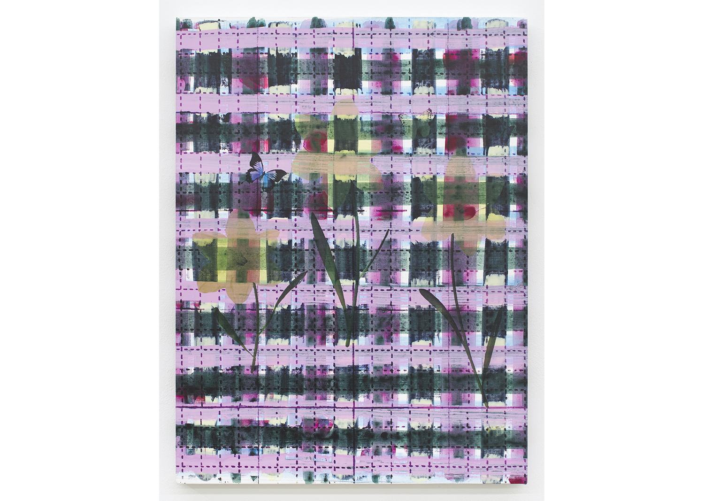 수줍은 꽃들 Bashful Flowers_캔버스에 아크릴과 uv프린트_61x45cm_2020@Bashful Flowers_Acrylic and uv print on canvas_61x45cm_2020