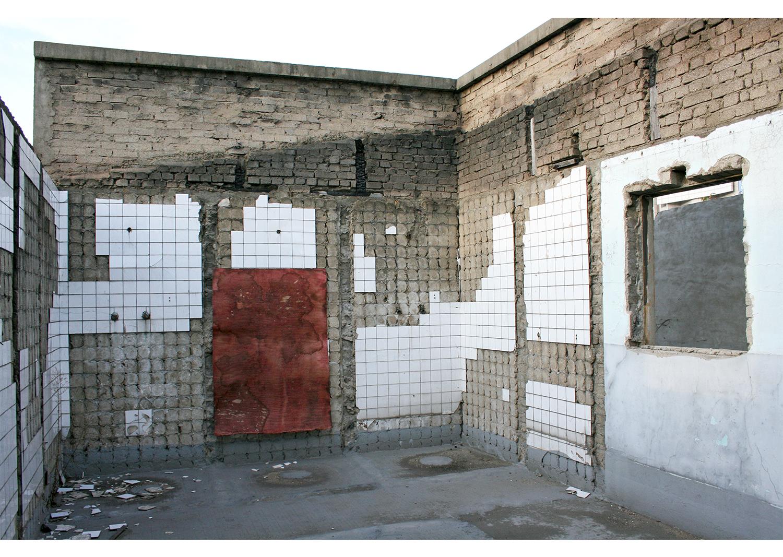 전리해, 10-A scene of traces, 장지에 채색,Digital pigment print, 33X50cm, 2009@Jeon Rihae, 10-A scene of traces, Coloring on the paper,Digital pigment print, 33X50cm, 2009
