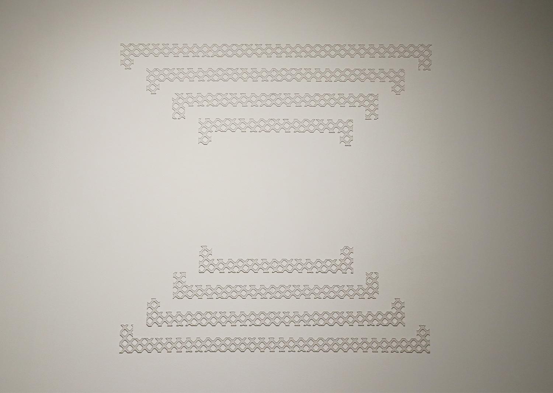 노해율, gravity draw-01, 폴리카보네이트, 120x120cm, 2019 @Noh,haeyul, gravity draw-01, polycarbonate, 120x120cm, 2019