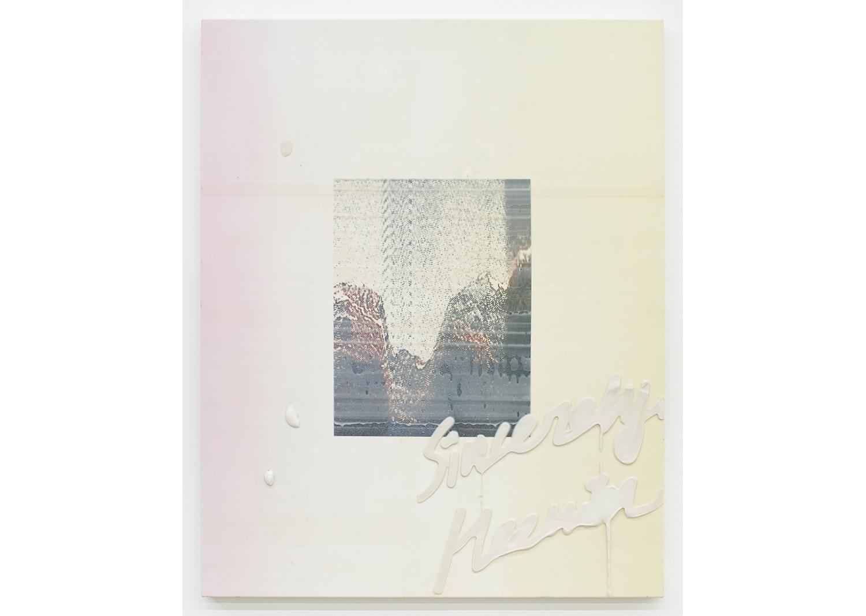 새로운 나 A New Me_캔버스에 겔 미디움과 uv프린트_100x80cm_2020@A New Me_Gel medium and uv print on canvas_100x80cm_2020